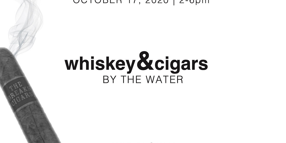 Whiskey & Cigar on the Water