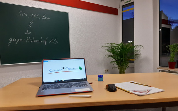 Unterrichtsraum 1 Nachhilfe Karlsruhe Waldstadt