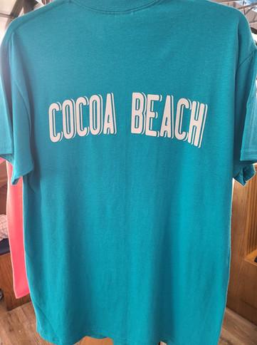 T-Shirt (Beachy/Teal - Back)
