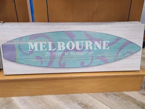 Flag (Melbourne - Surf Board)