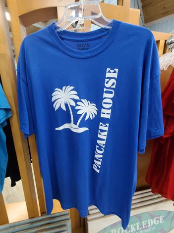 T-Shirt (Pancake House/Blue - Front)