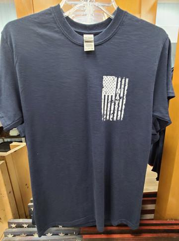 T-Shirt (Navy/Gray - Front)