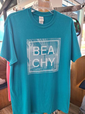 T-Shirt (Beachy/Teal - Front)