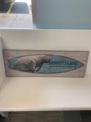 Flag (Merritt Island - Manatee Surf Board)