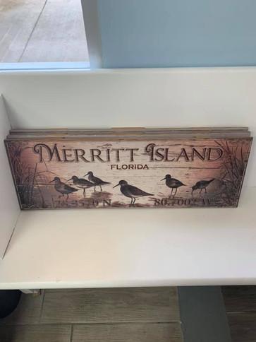 Flag (Merritt Island - Birds)