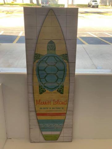 Flag (Merritt Island - Sea Turtle Surf Board)