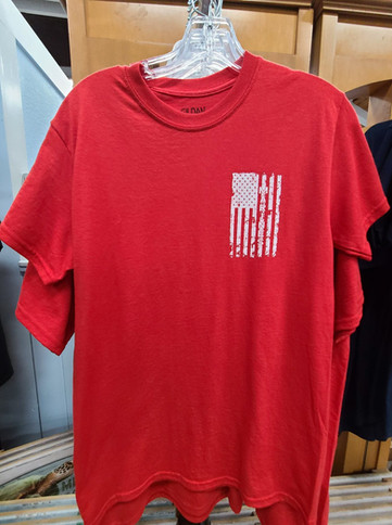T-Shirt (Marines/Red - Front)