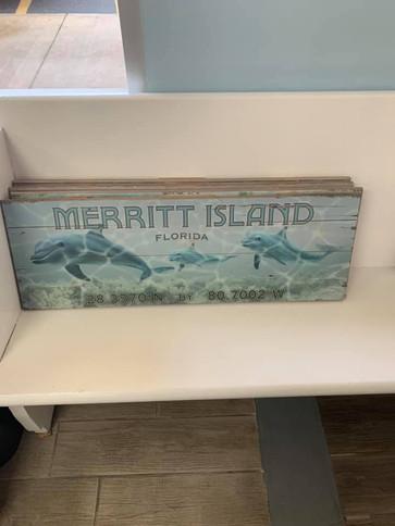 Flag (Merritt Island - Dolphins)