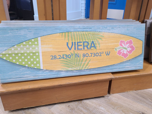 Flag (Viera - Flower Surf Board)