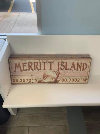 Flag (Merritt Island - Seashell)