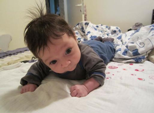7 סיבות למה חשוב להשכיב תינוק על הבטן!