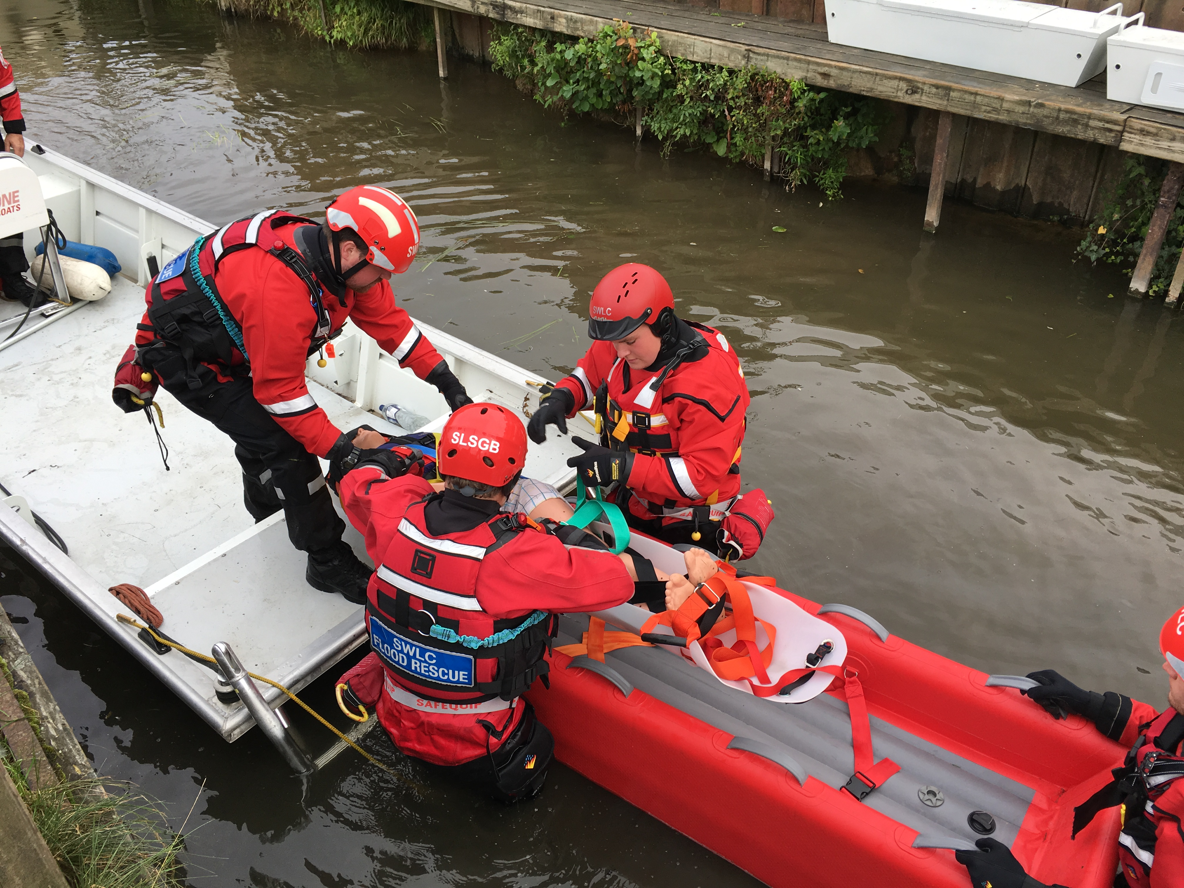 Saviour Aquatic Sled and Saviour Tac