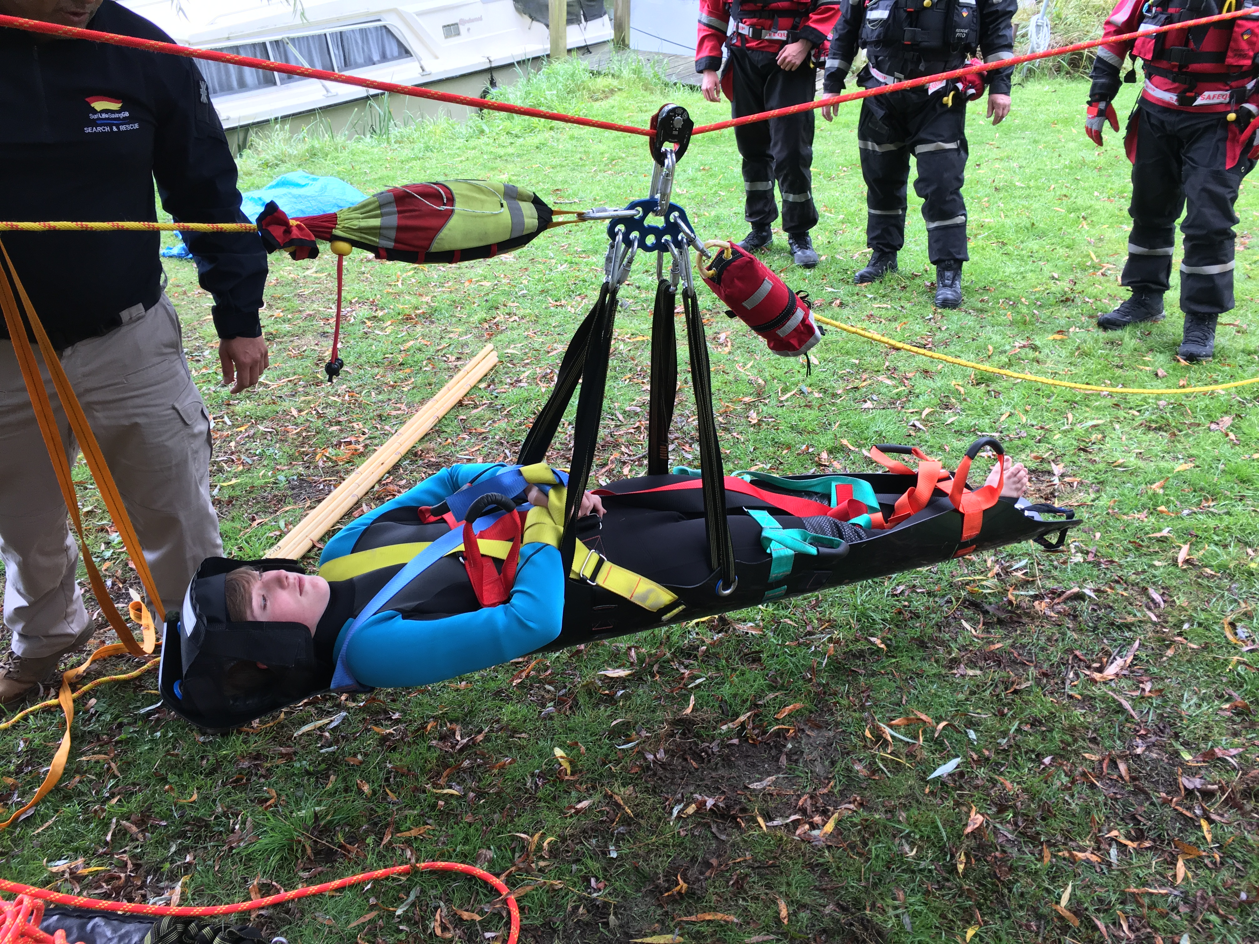 Technical Flood Rope Exercise