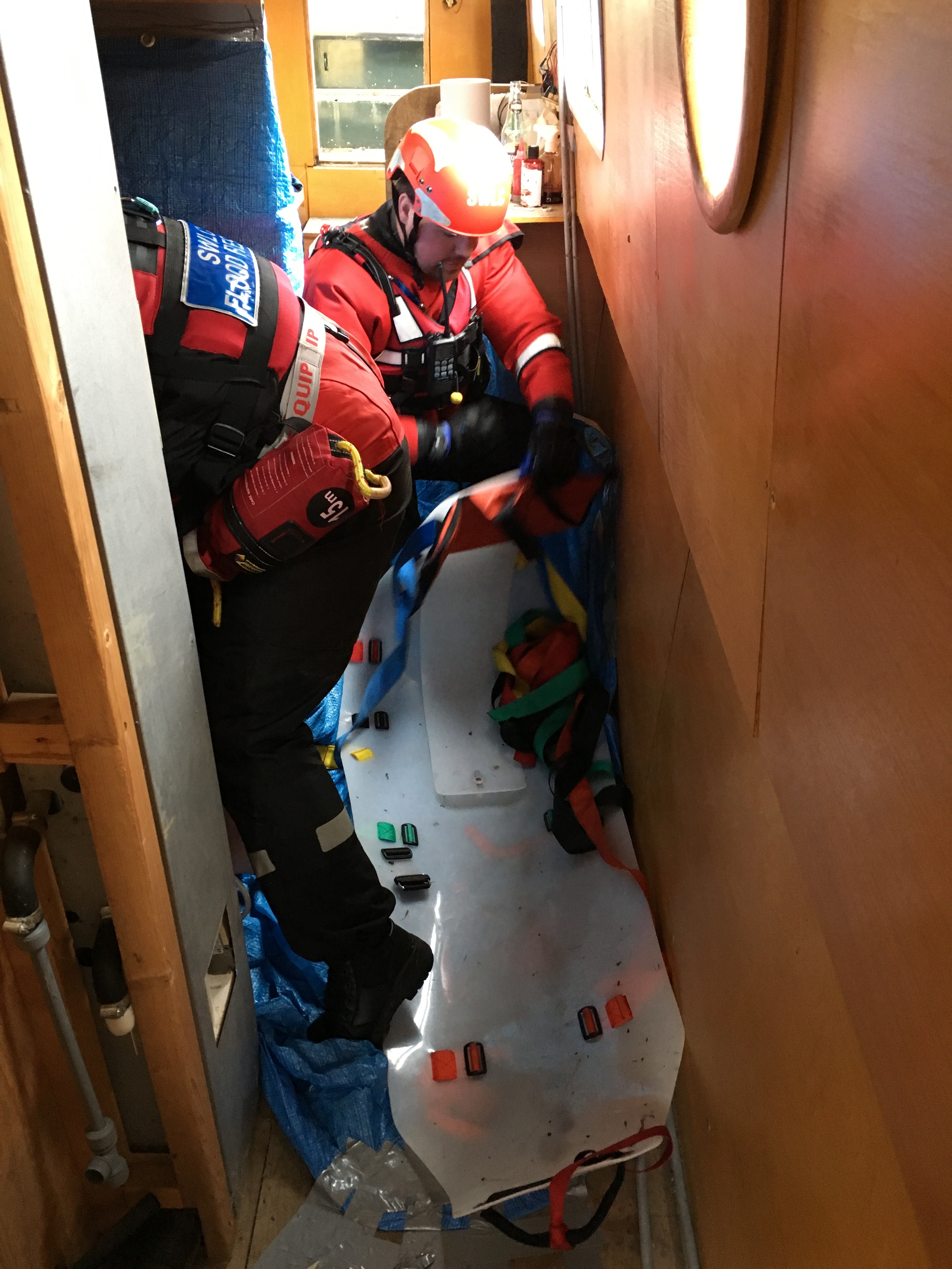 Tactical in confined maritime space