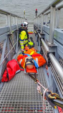 Offshore Turbine Rescue