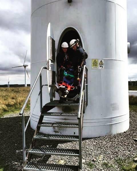 Turbine rescue