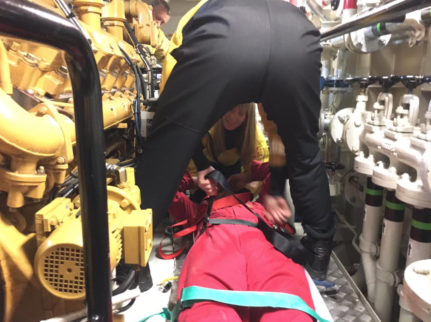 RNLI Confined Space Rescue