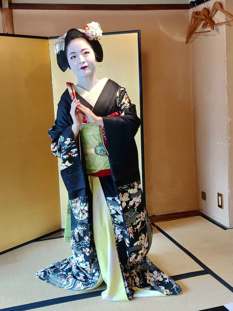 Bonyo James 邦友帶你玩日本 京都藝妓體驗 花見舞妓