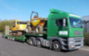 Cox Low Loader Delivery Transporter Lorry