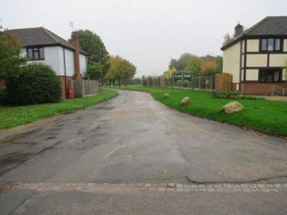 Cox Landscapes Entrance