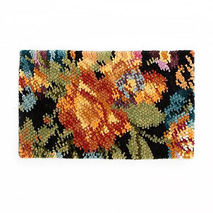 Autumn Flowers Rug - Black.jpg