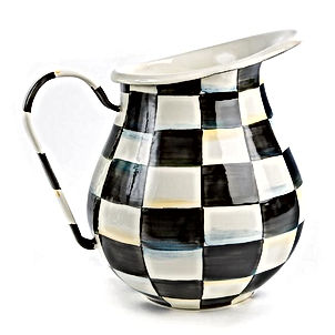 Courtly Check Enamel Pitcher.jpg