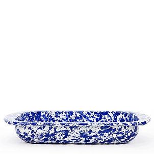 Golden Rabbit Cobalt Blue Baking Pan.jpg