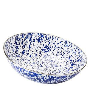 Golden Rabbit Cobalt Blue Large Bowl.jpg