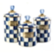 Royal Check Canisters