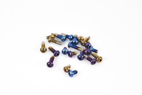 Billet Box Titanium screws