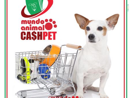 CashPet: suas compras agora valem crédito para você comprar de novo!