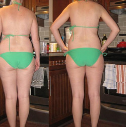 before and after back