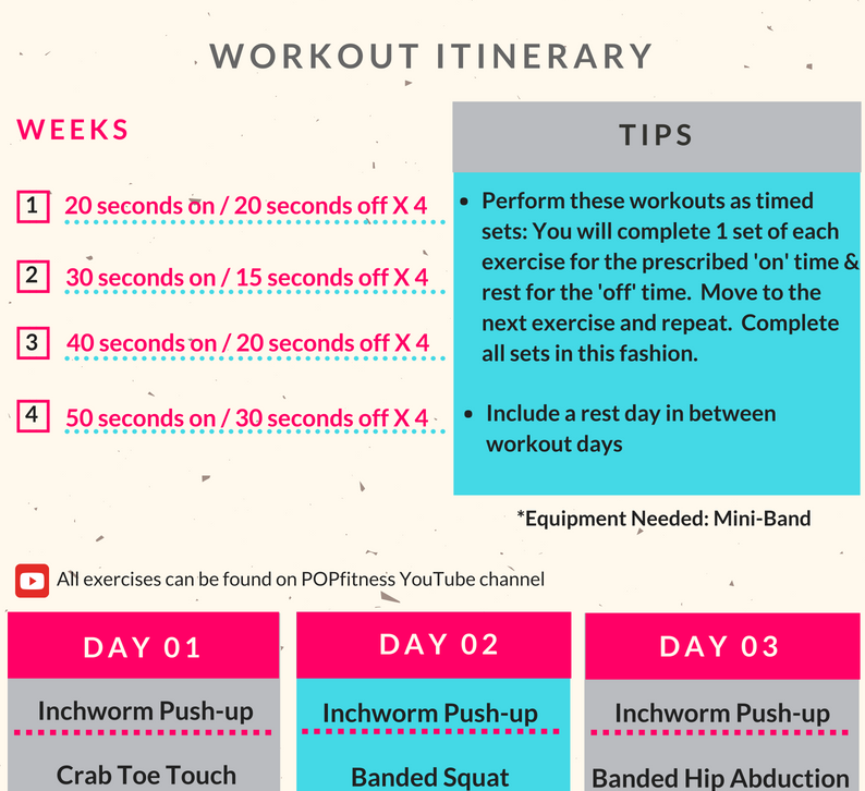 Jet Set July - your travel workout itinerary
