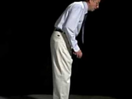 Through a Kinesiologists Eyes - Hunched Posture