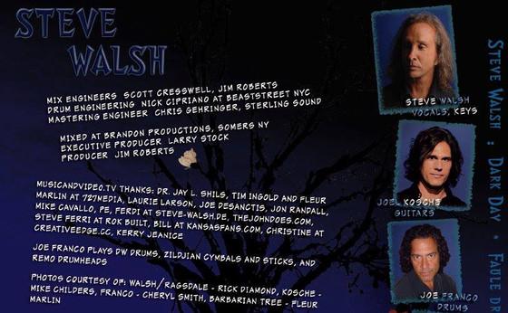 Steve Walsh Collaborators - Joel Kosche
