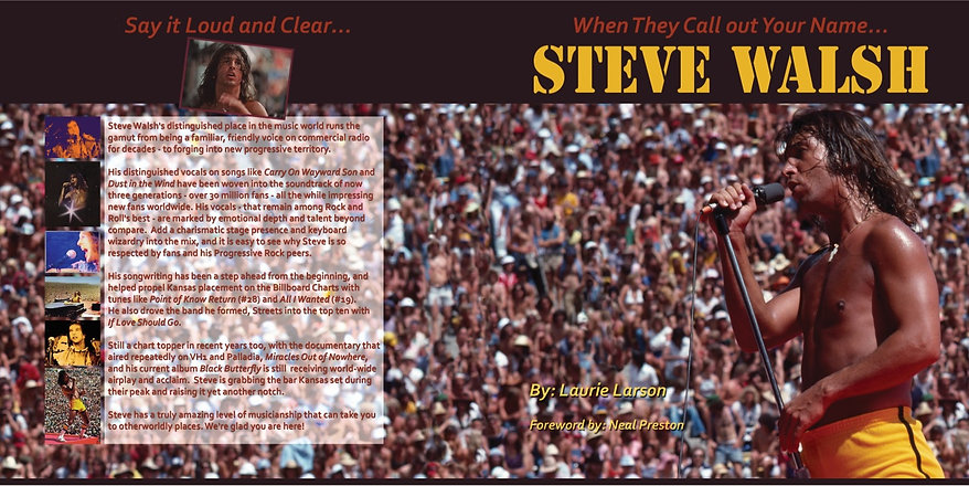 New Steve Walsh Book