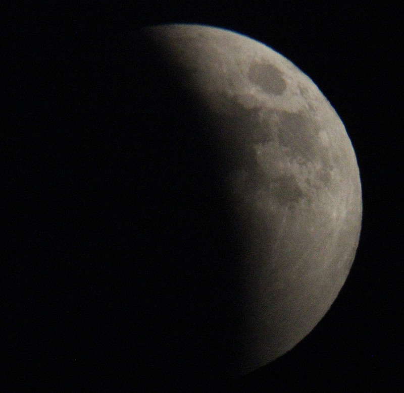 April 15, 2015 Lunar Eclipse by Laurie Larson