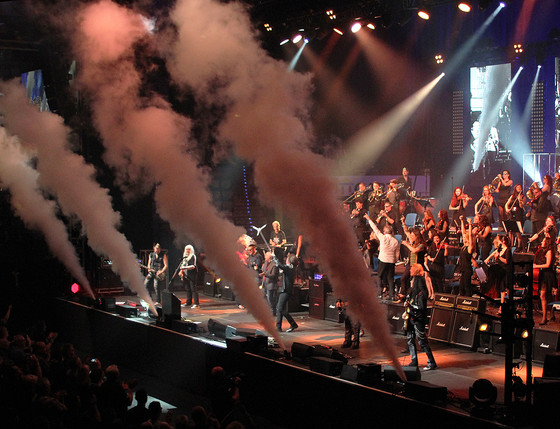 Rock Meets Classic Finale, Last Year in April
