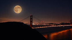 Left the Moon in San Francisco - Photo by Laurie Larson