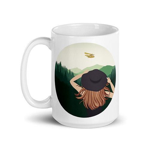 Calla in the Wild 15 oz Ceramic Mug