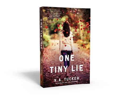 One Tiny Lie - Signed Paperback