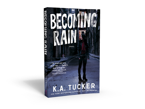 Becoming Rain - Signed Paperback
