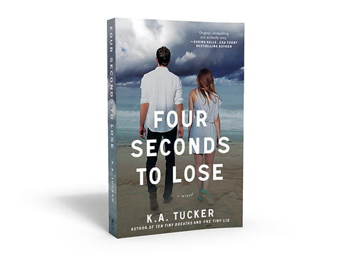 Four Seconds To Lose - Signed Paperback