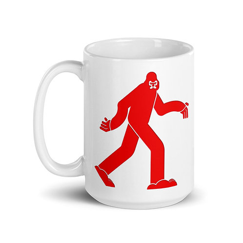 Angry Yeti 15 oz Ceramic Mug