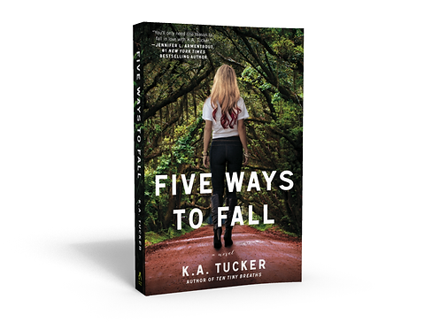 Five Ways To Fall - Signed Paperback