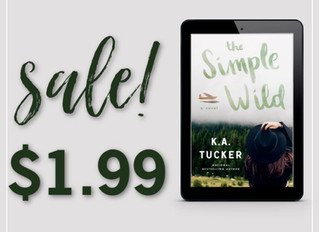 The Simple Wild is on sale!