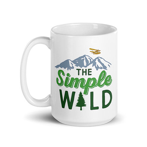 The Simple Wild 15 oz Ceramic Mug