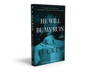 Signed paperbacks of He Will  Be My Ruin
