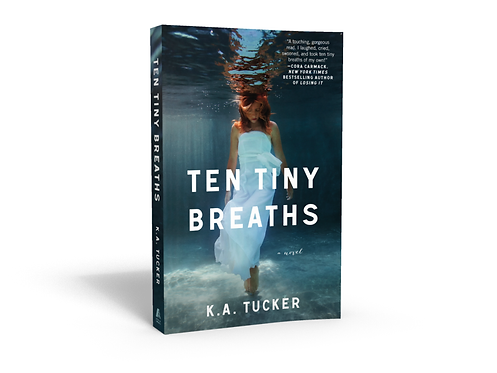 Ten Tiny Breaths - Signed Paperback
