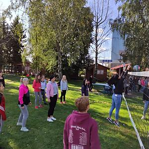 Sportovní den SŠS UH na Ókáčku